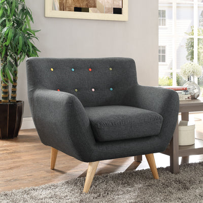 Reverence Armchair Gray