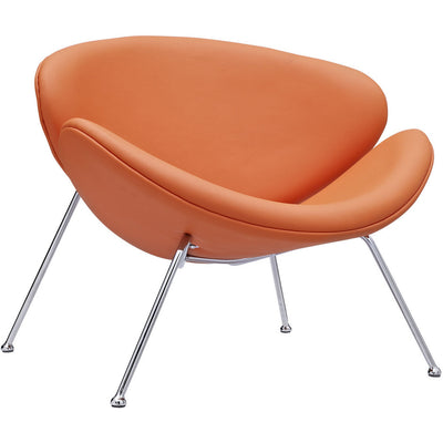 Nora Lounge Chair Orange