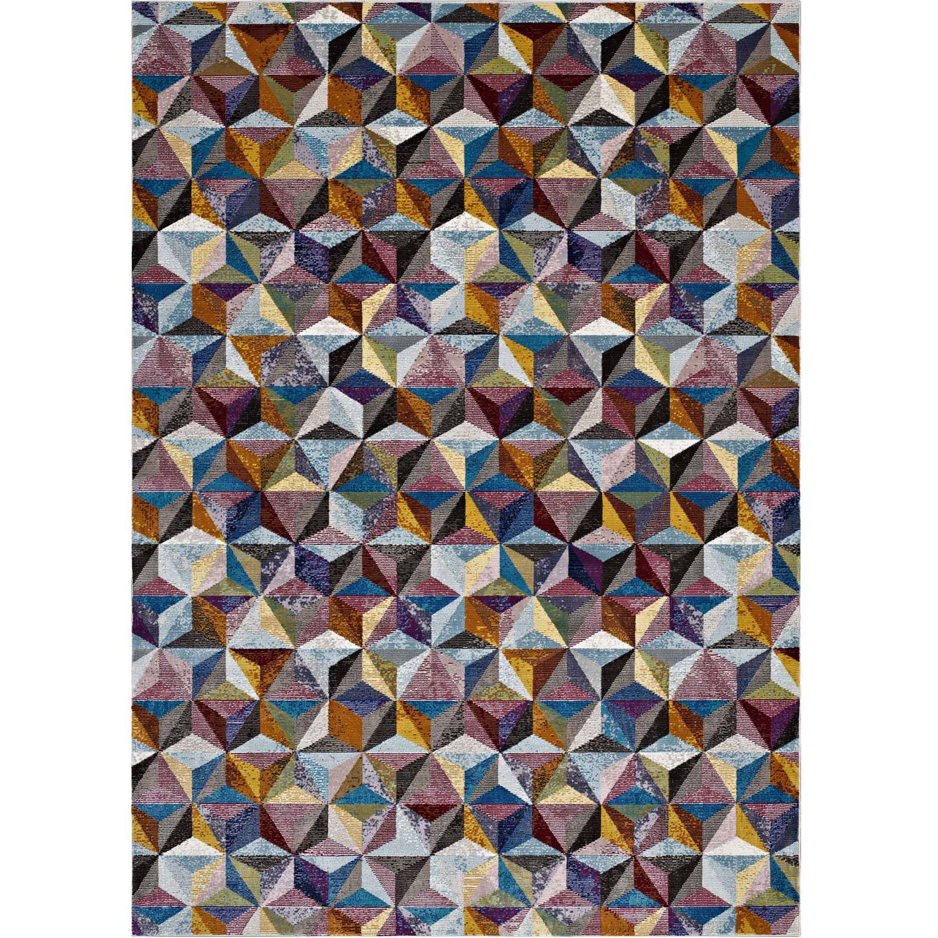 Aaron Area Rug Multicolored
