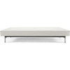 Stockholm Sofa Steel White Leather