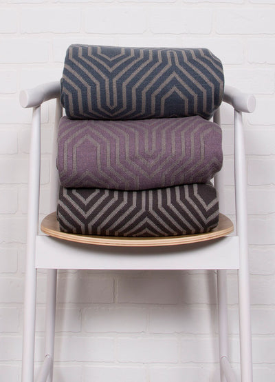 Trinity Neutral Gray/Flint Throw