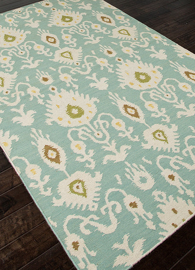 Urban Bungalow Samir Cool Aqua Area Rug