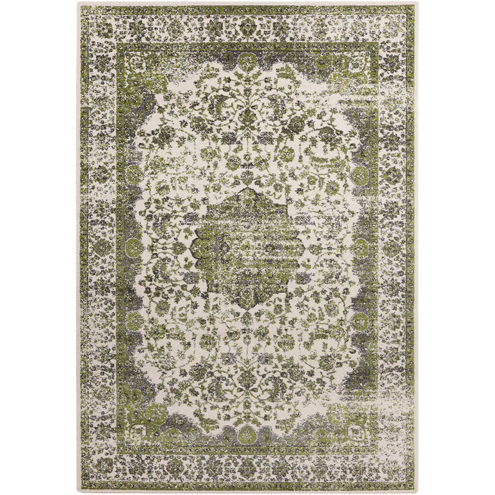 Aberdine Lime/Light Gray Area Rug