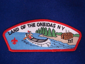 land of the oneidas c s7a