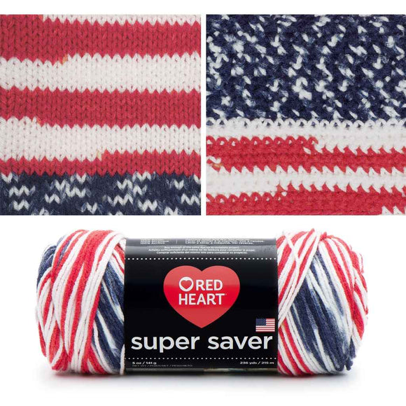Super Saver Variegated Yarn by Red Heart