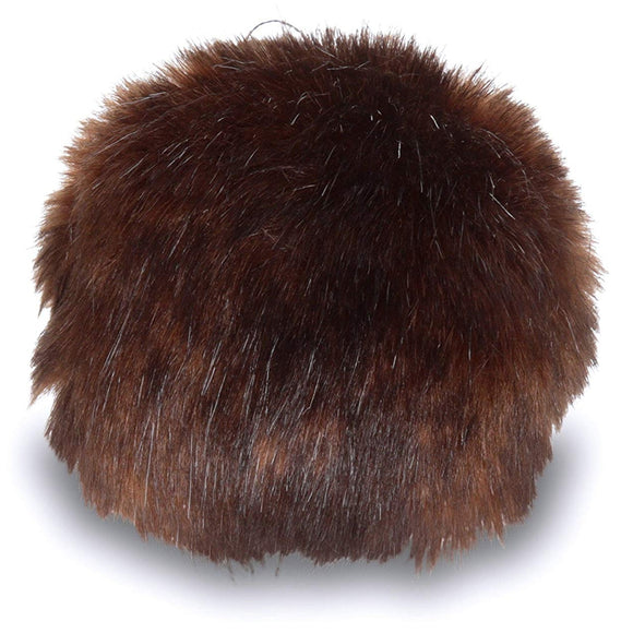 Faux Fur Pompoms by Bernat, Large 3