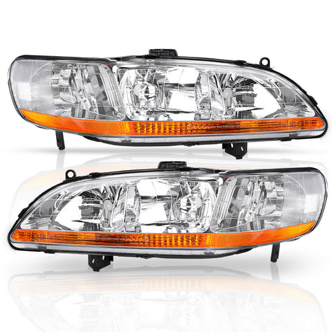 Headlights Assembly for 1998-2002 Honda Accord