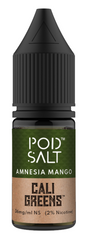 Amnesia Mango Salt Nicotine E Liquid by Pod Salt