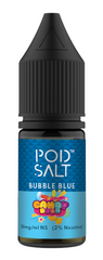Bubble Blue Salt E Liquid by Pod Salt