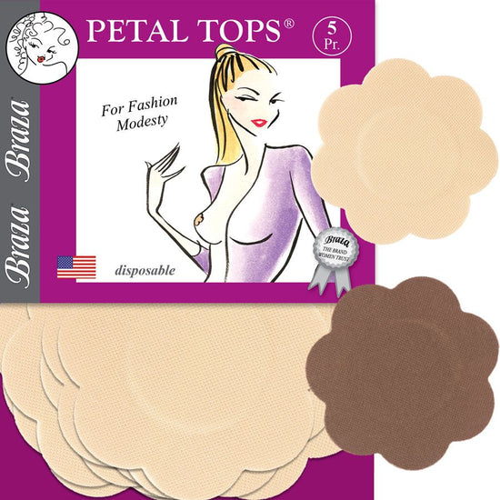 Braza Petal Tops - Disposable Nipple Covers