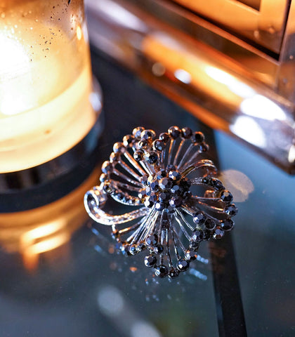 Ring - Wilma Crystal Flower Ring