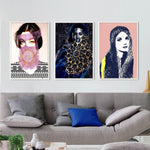 3 pieces Arab Women Portrait