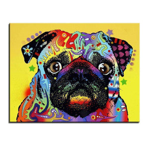 PUG WALL ART - Artisary