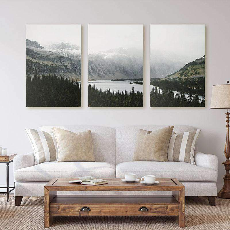 3 PCS Nature Landscape Canvas