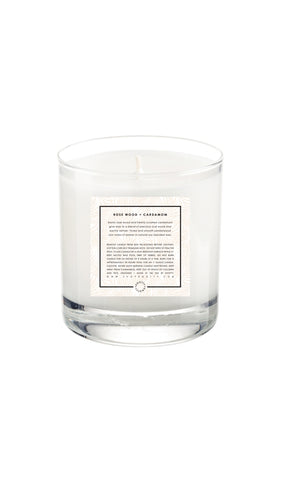 Soy Candle | Rose Wood + Cardamom