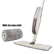 Load image into Gallery viewer, SPRAY FLOOR MOP with Reusable Microfiber Pads