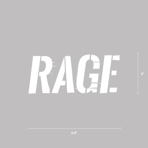 Rage Decal