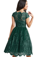 Load image into Gallery viewer, Lace Embroidered Prom Dress