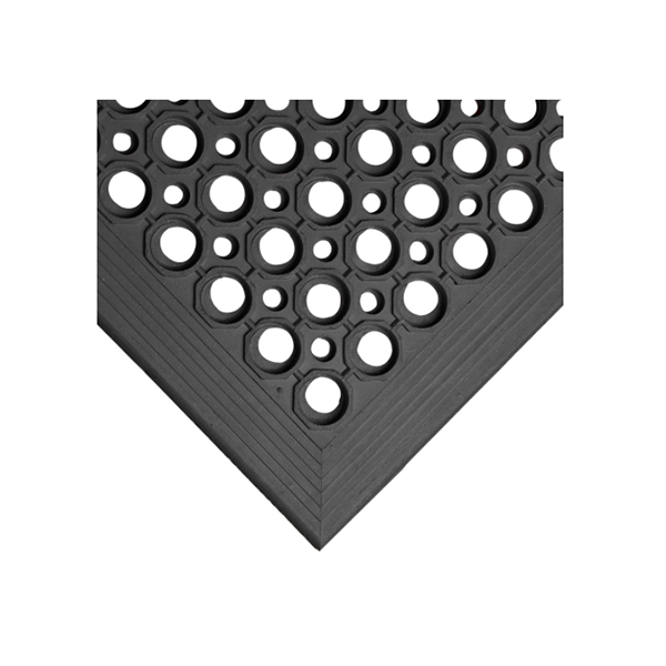 Black Rubber Bar Mat
