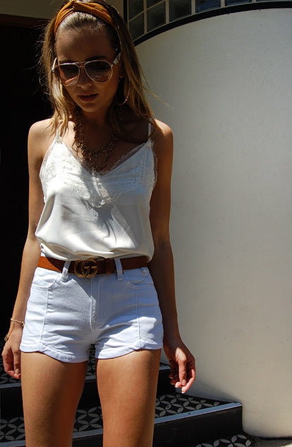 Summer Lovin Denim Shorts front