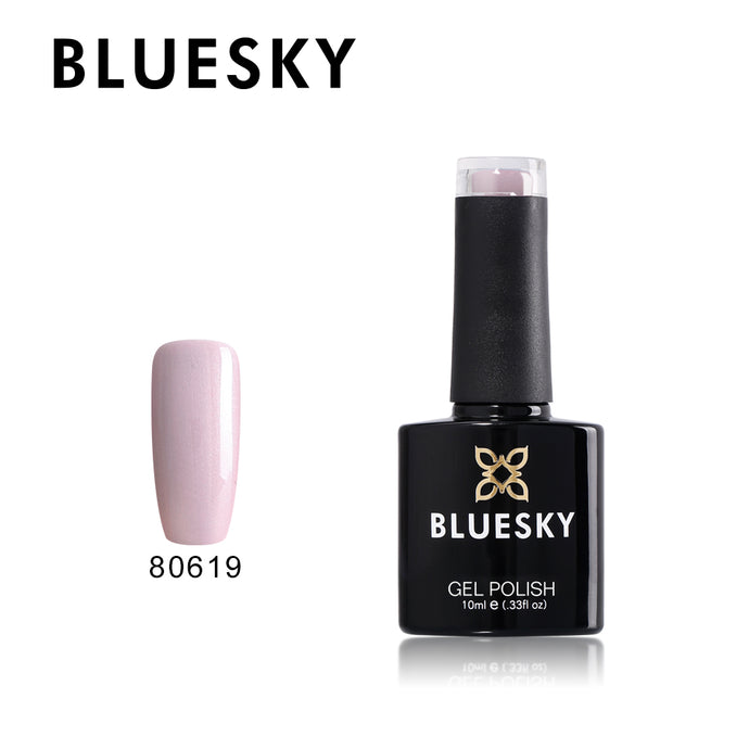 80619 Bluesky gel polish Aurora Collection - Lavender Lace 10ml