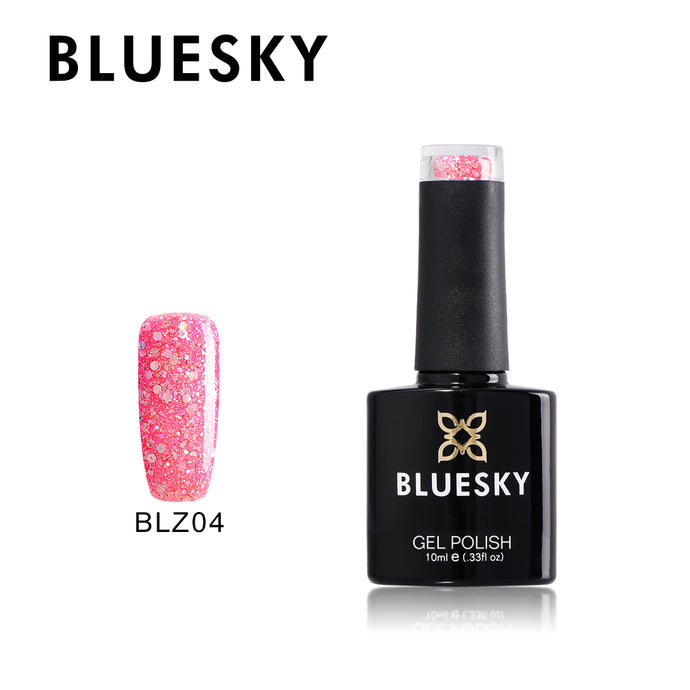 BLZ04 - Bluesky Diamond Glitter Range - uv gel 10 ml