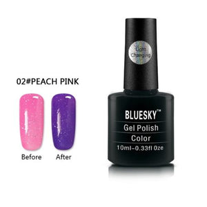 LC002 - Bluesky LIGHT COLOUR CHANGE UV/LED - Gel Nail Polish 10ml