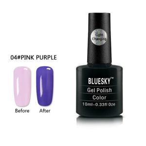 004 - Bluesky LIGHT COLOUR CHANGE UV/LED - Gel Nail Polish 10ml