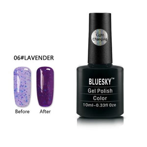 006 - Bluesky LIGHT COLOUR CHANGE UV/LED - Gel Nail Polish 10ml