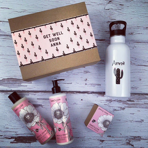 Personalised Get Well Gift Box
