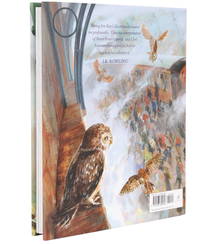 Harry Potter and the Philosopher's Stone - Illustrated Edition