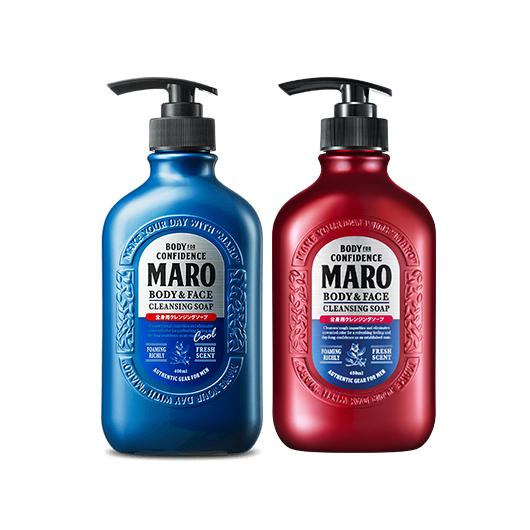[ J-Beaute Sale ] Maro Body & Face Cleansing Soap [2 Types To Choose]