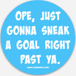 "Ope...Sticker (3"" Round)"