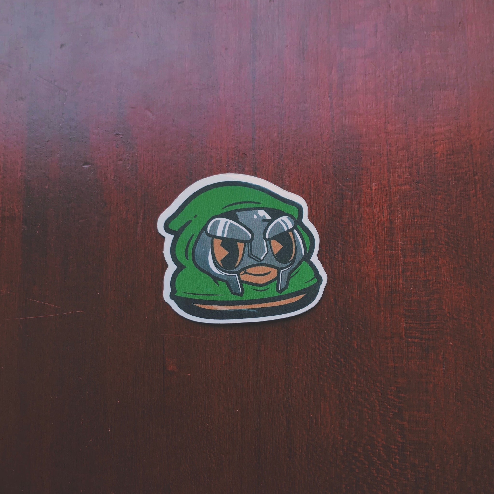 DOOM Kid Andre Holographic Sticker (Limited to 100)