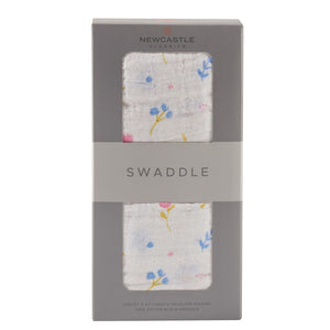 Newcastle Classics - Spring Time Flower Swaddle