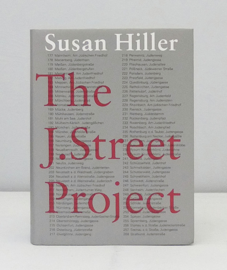 The J. Street Project by Susan Hiller