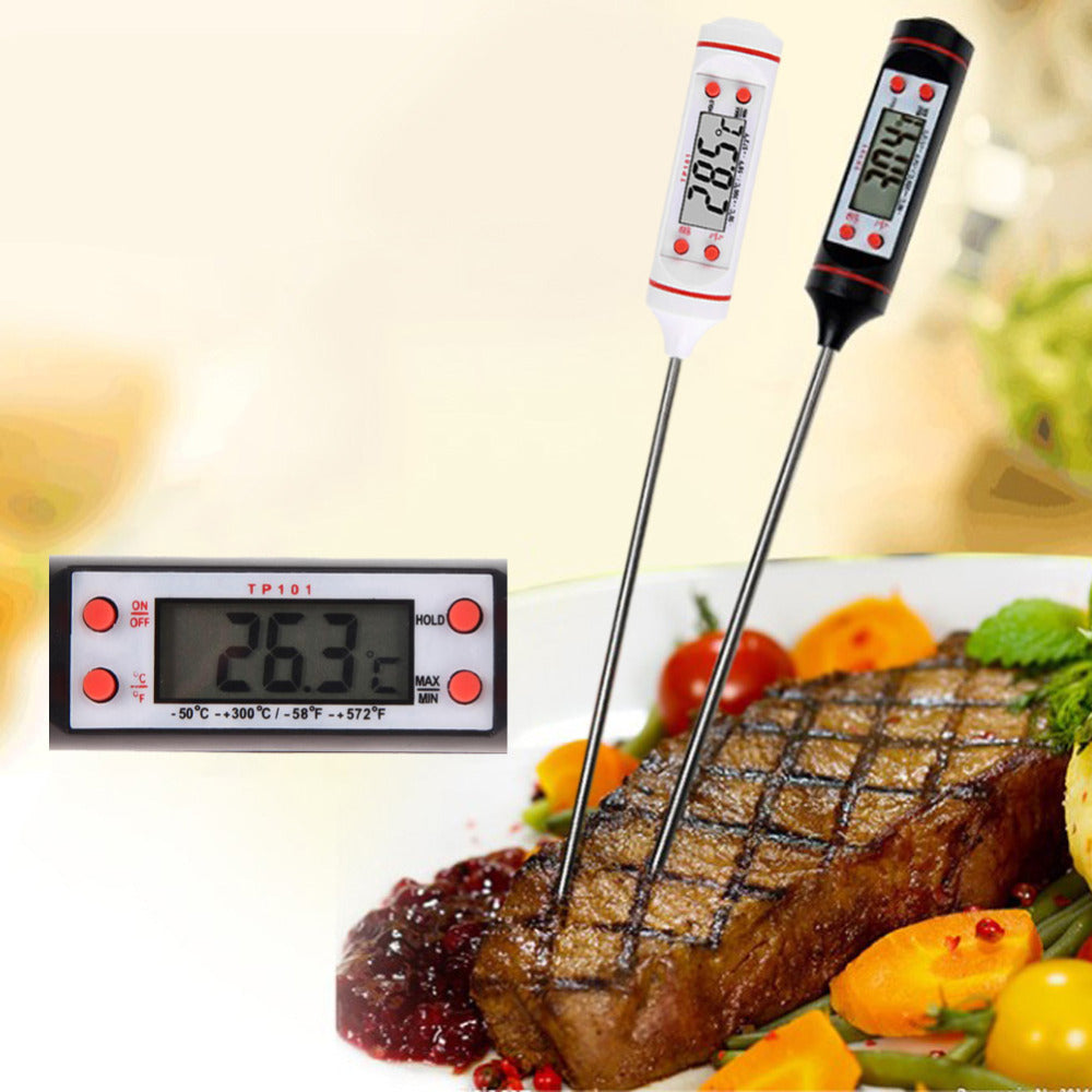 Digital Kitchen Thermometer For BBQ - Kitchen Ideas Store
