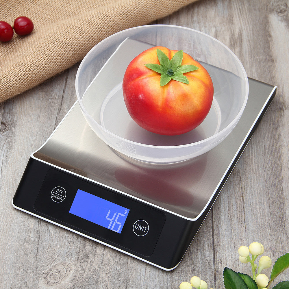 5kg/1g Accurate Digital Kitchen Scale Touch Control with LCD Display - Kitchen Ideas Store