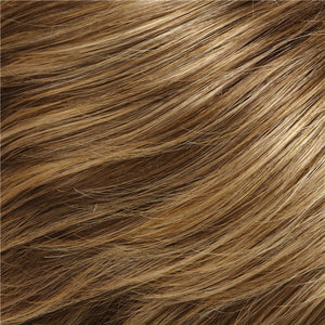 Jon Renau - Color DARK ASH BROWN & HONEY BLONDE BLEND W HONEY BLONDE TIPS (24BT18)