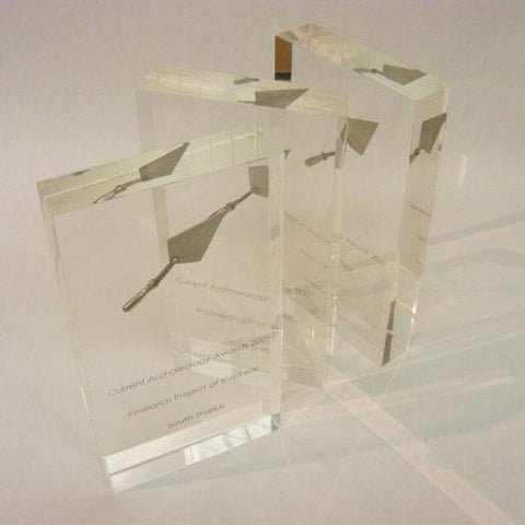 Archaeological Acrylic Award