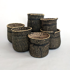 Mini Iringa Basket - Black