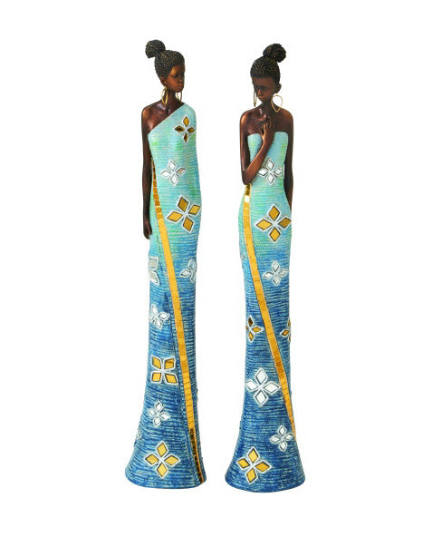 African Lady Sculptures 44287 | UMA Enterprises