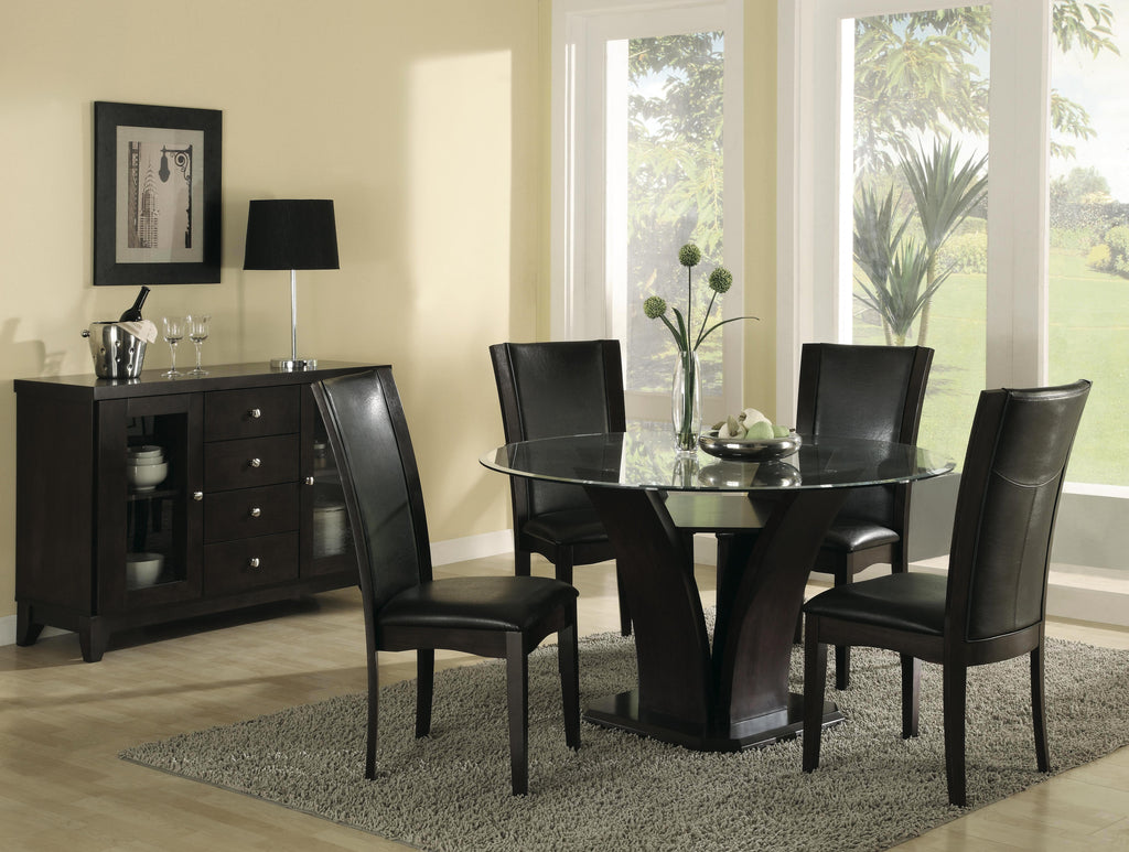 Trestle Round Dining Set | Homelegance