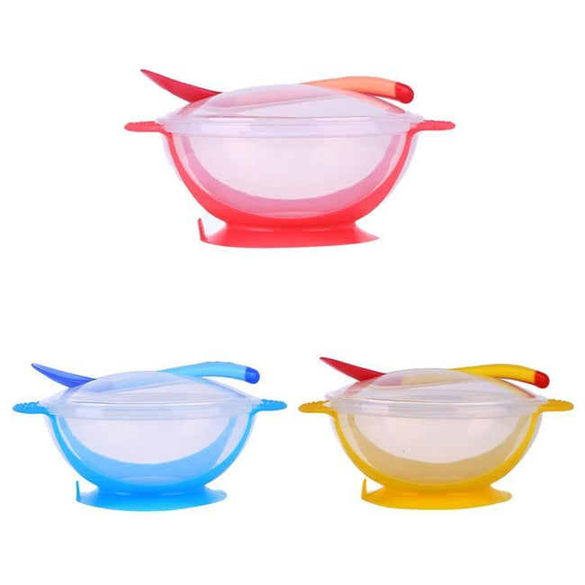 3 Piece Drop Resistant Baby Bowl Set-American Aura