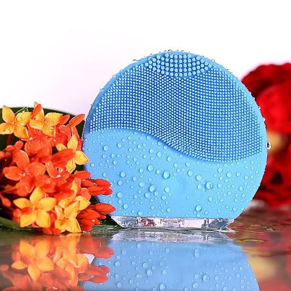 Mini Waterproof Electric Facial Massager and Cleanser-American Aura