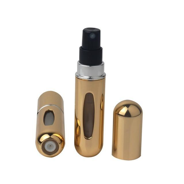 5ml Portable Mini Refillable Perfume Bottle With Spray Scent Pump Empty Cosmetic Containers Spray Atomizer Bottle For Travel New-American Aura