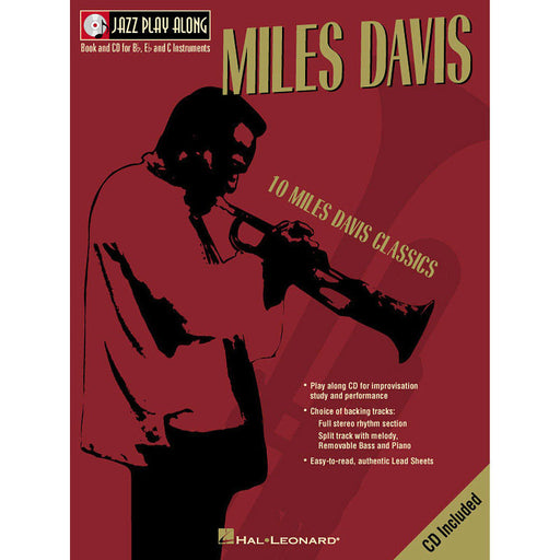 Miles Davis Jazz Play-Along Volume 2 - Octave Music Store