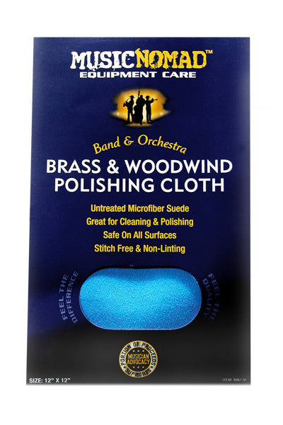 Music Nomad: Brass & Woodwind Polishing Cloth