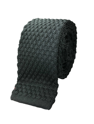 Knotted Black Knit