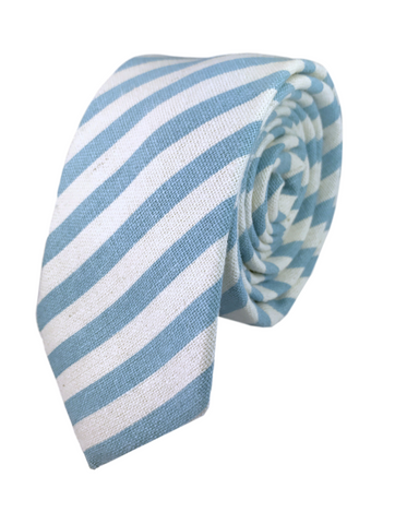 Robin Blue Candy Stripe